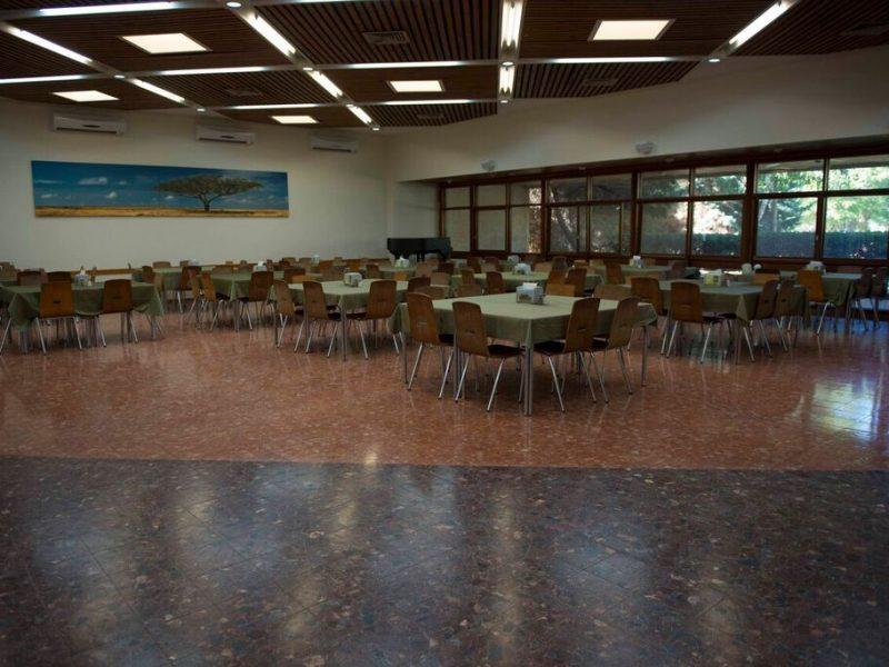 קיבוץ גבולות – חדר האוכל הקיבוצי